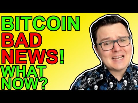 Bitcoin BAD NEWS!!! But There's Good Crypto News In 2021 Too!