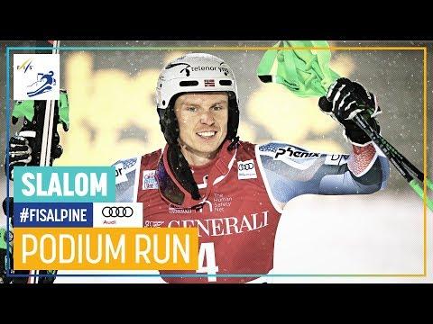 Henrik Kristoffersen | Men's Slalom | Levi | 1st Place | FIS Alpine
