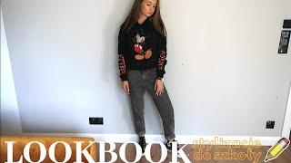 LOOKBOOK stylizacje do szkoły  back to school 2019