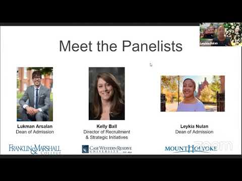 Webinar Wednesday — Round Table with Deans and Directors of Admission