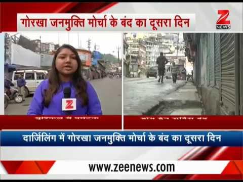 Gorkhaland Strike : More than 2000 tourists stranded in Darjeeling