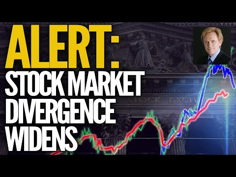 ALERT: Stock Market Divergence Widens - Mike Maloney