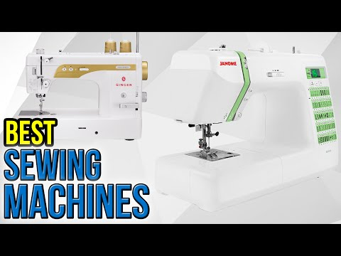 7 Best Sewing Machines 2017