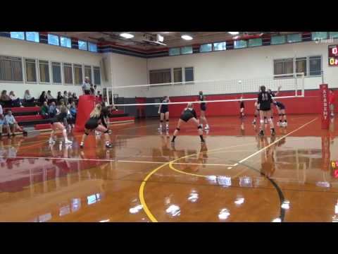 Alison Weber #12 OH vs Academy of Notre Dame Highlights