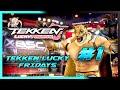 Tekken Lucky Fridays #1 Offline Tekken Is The Best  Spa/eng  Joaking, Kru, Go Sh