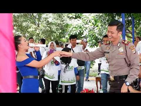 Viral Joged Polisi Ganteng Asal Lampung Bareng Susi Ngapak