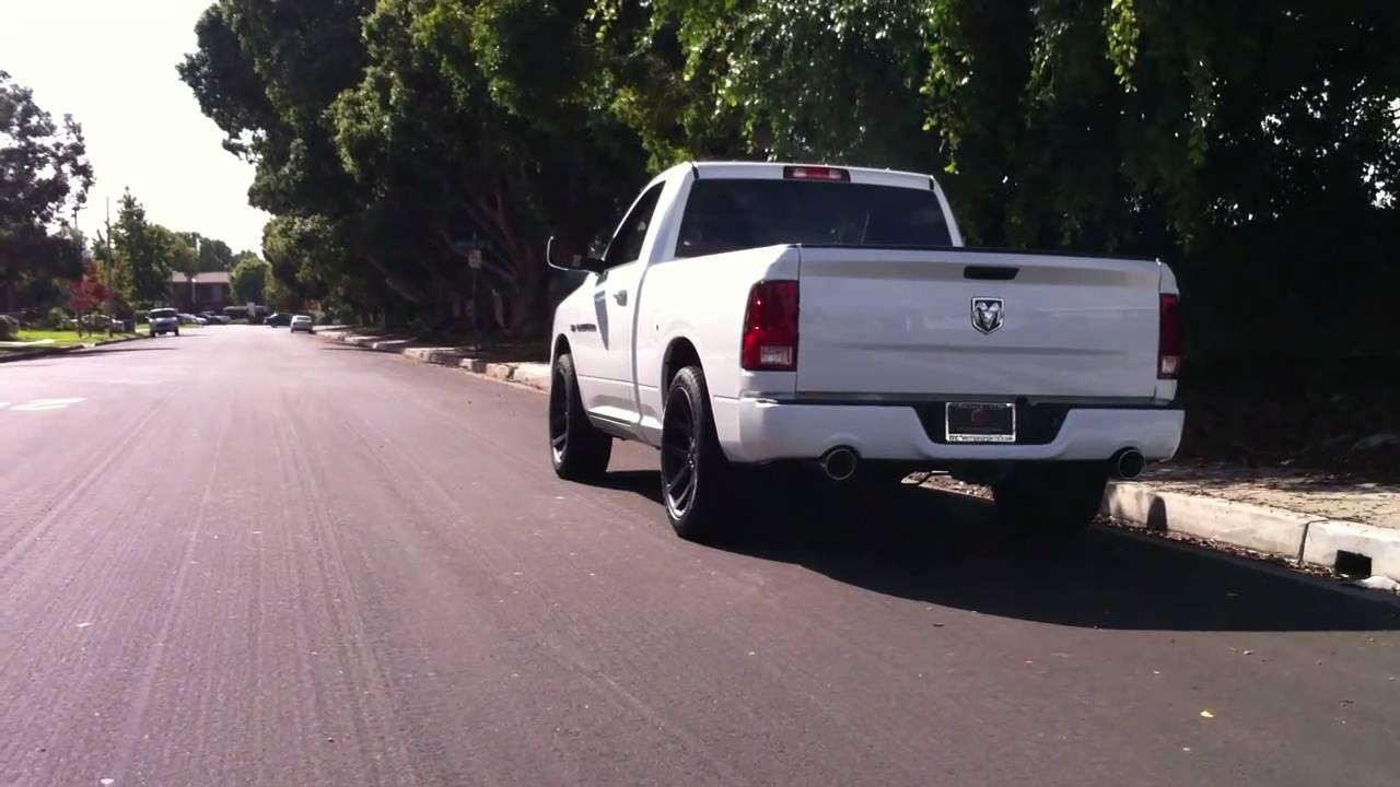 2011 Dodge Ram R/T --- K&N Intake and Magnaflow Exhaust ...