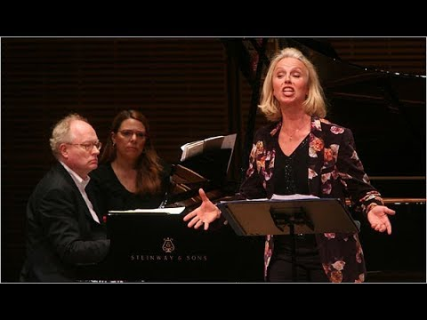 Anne Sofie Von Otter sings Hahn mélodies - LIVE, 2008