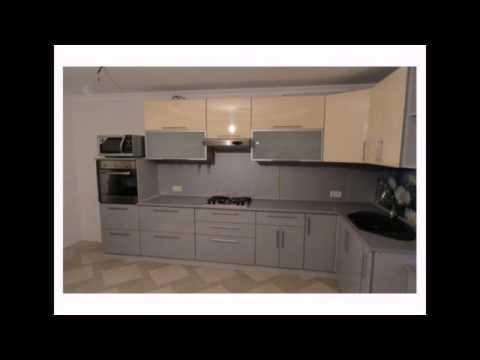 Серо-черные кухни в интерьере