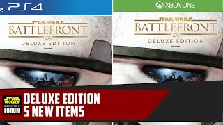 Battlefront Deluxe Edition - 5 New Items Reviewed!