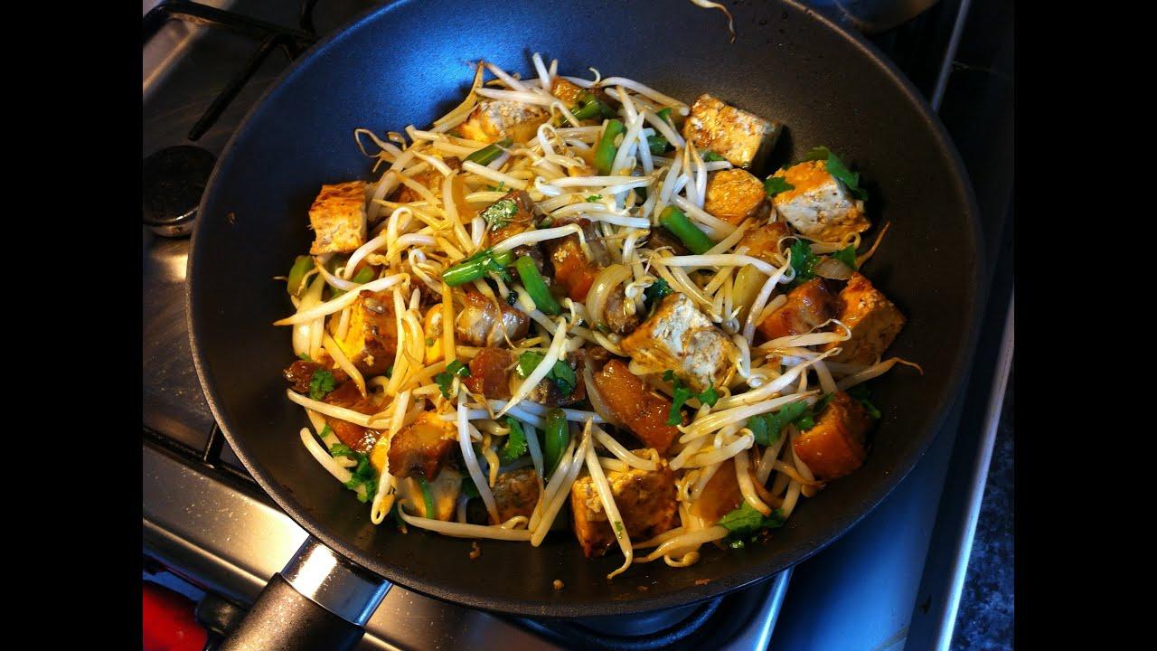 how to cook kangkong with tofu