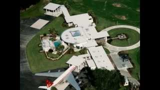 Johntravolta House Design : Amazing House Design! House with Airport?