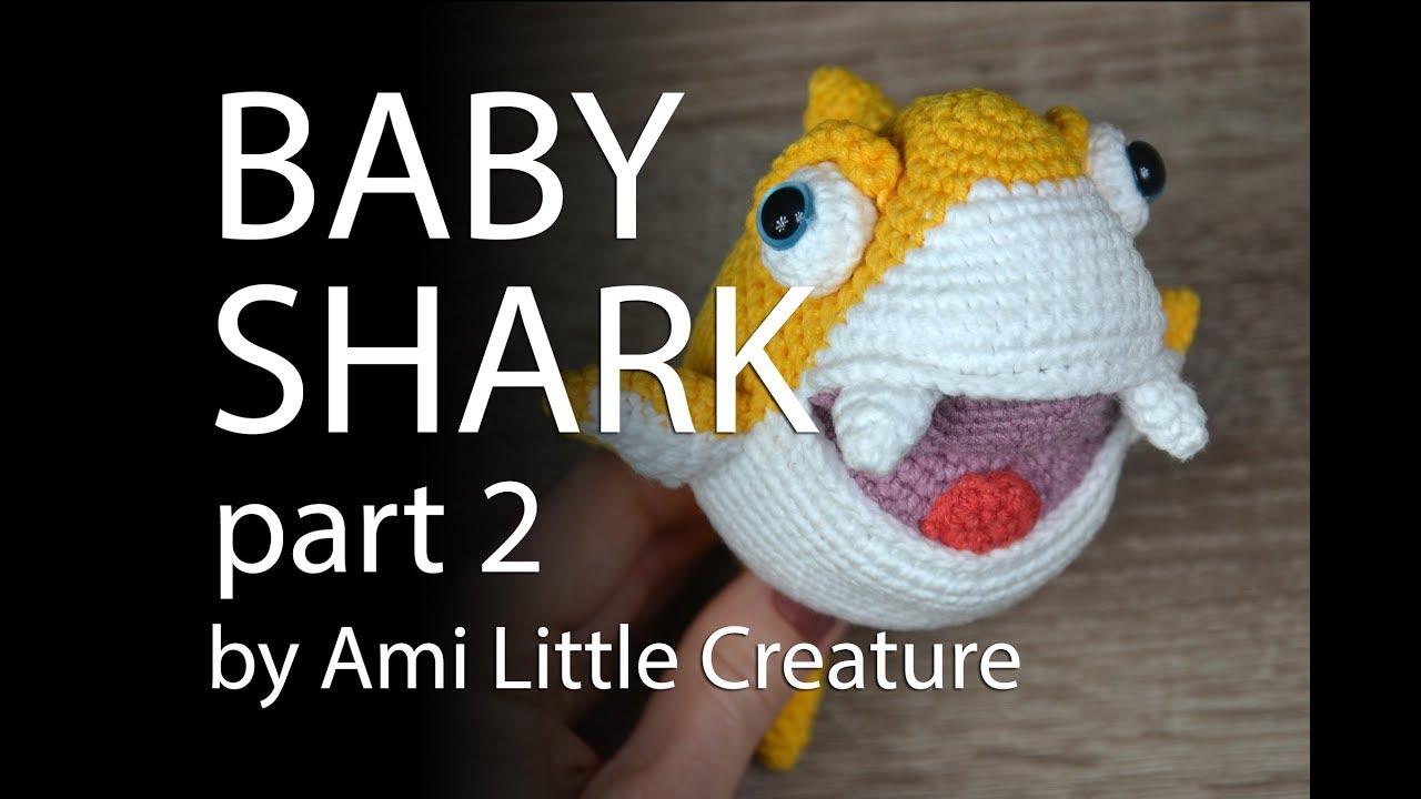 Baby Shark e Pinkfong amigurumi | 720x1280