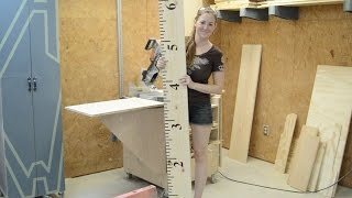 Diy Wood Burned Growth Chart Ruler