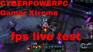 CYBERPOWERPC Gamer Xtreme GXIVR8020A4 PC Frames Per Second Review GamePlay (300+FPS)