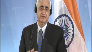 Joint Press Interaction with German Foreign Minister