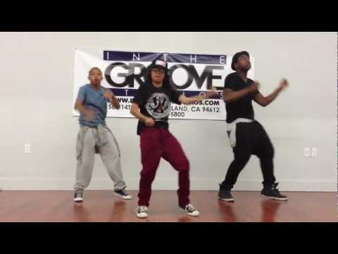 Hip Hop Dance Class at In The Groove Studios - Rocko Luciano and Lil BIGZ