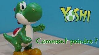 Comment peindre une impression 3D ? Figurine Yoshi par E-Make
