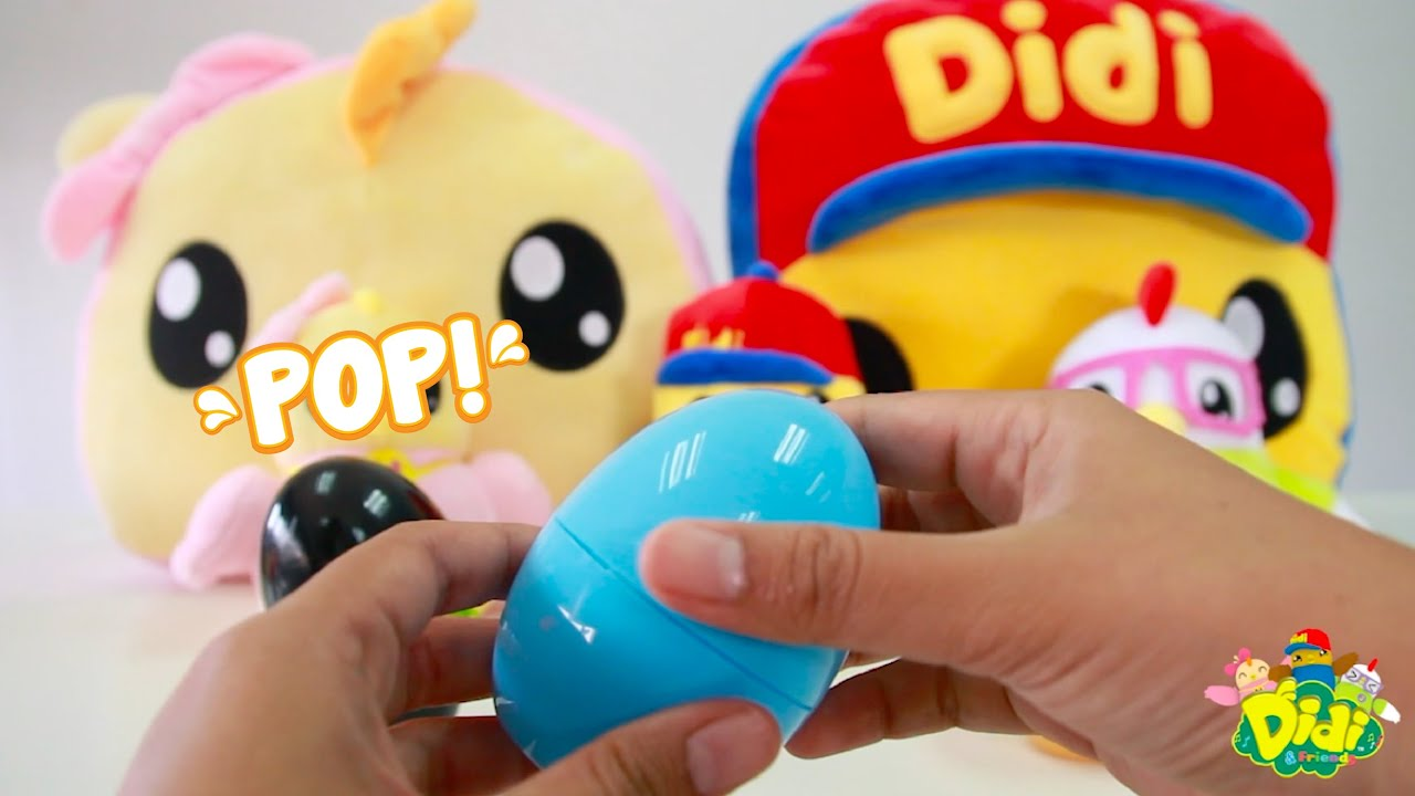 Missing Puzzle in Surprise Egg | Fun & Play with Didi & Friends | Puzzle & Surprise Egg for Kids