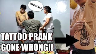 BUGBOG O DIGNIDAD?! TATTOO PRANK ON DAD!! | KATH MELENDEZ