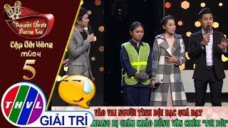 """THVL   Vào vai phản bội, Nguyên Khang bị Giám khảo Hồng Vân chém """"tơi bời"""""""