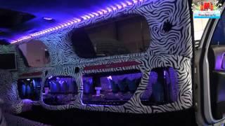 Limousine Lincoln Zebrata - Auto di Lusso Speciale e Modificata a Roma