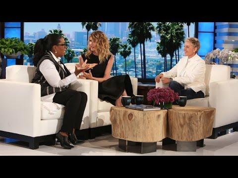 Ellen, Oprah & Laura Dern on the