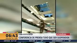 Cancelan conferencia de prensa de artistas del festival SM Town de K-Pop