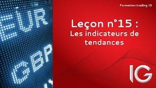 Leçon n°15 : Les indicateurs de tendance - Formation trading IG