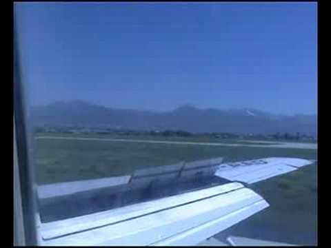 Landing Erzurum with 737-500