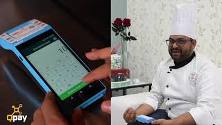 Eclat Cakes & Chocolates use QPay Smart POS on deliveries