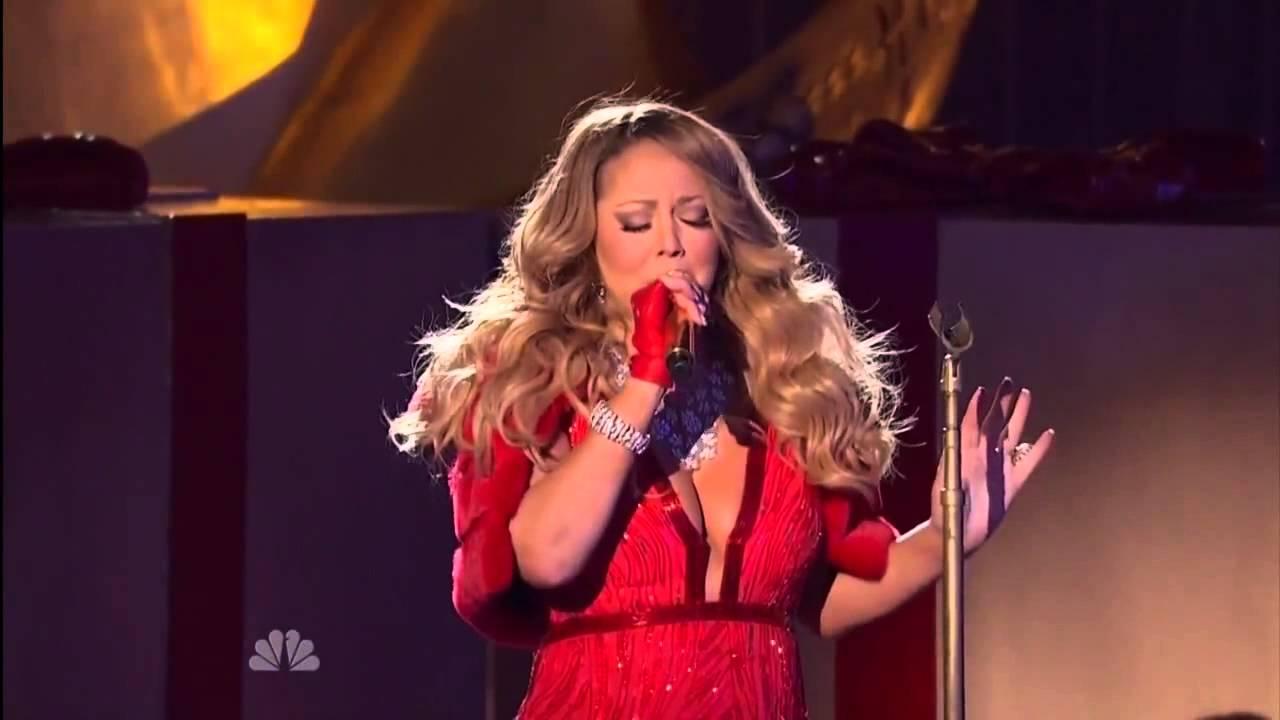 Mariah Carey All I Want For Christmas Mic Feed.Mariah Carey Live Raw Mic Feed Aiwfciy 2014