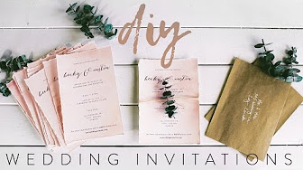 Popular Videos Wedding Invitation How To Youtube