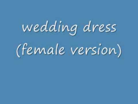 Taeyang - Wedding Dress Female Version(with download link)