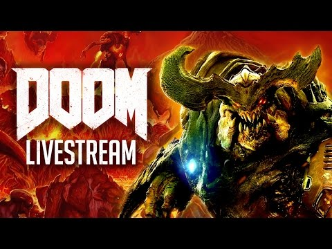 Doom Single-Player Livestream with the Devs!