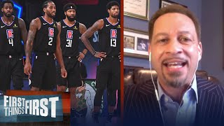 Chris Broussard concedes to Wright after Clippers lose to Denver in GM 7 | NBA | FIRST THINGS FIRST