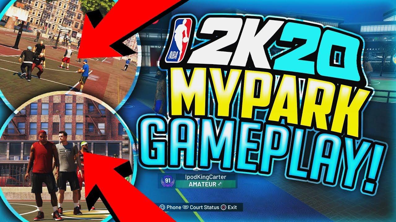 NBA 2K20 MYPARK GAMEPLAY REALEASED!? 😱 NEW NBA 2K20 NEWS