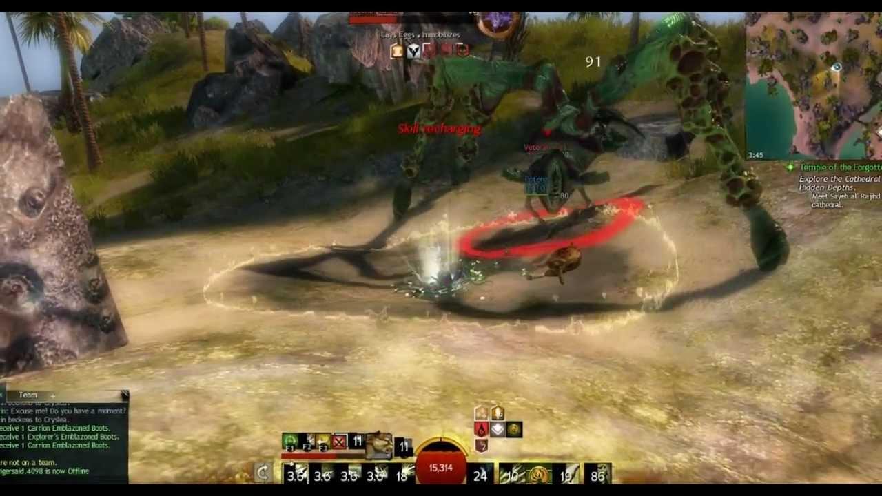 Ranger Guild Wars  Build Pve