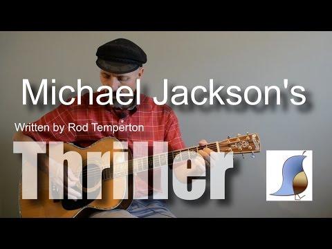 Michael Jackson Thriller - Guitar Lesson