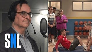 creating saturday night live steve higgins makes sound effects for gym class