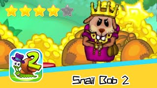 Snail Bob 2 Forest Story 16-18 Walkthrough Play levels and build areas! Recommend index four stars