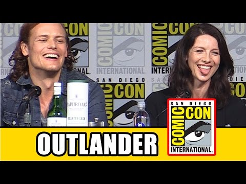 Outlander Comic Con 2015 Panel - Sam Heughan, Caitriona Balfe, Season 2