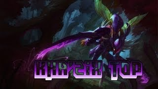 Gameplay League of Legends - Kha'zix Top - FR & HD