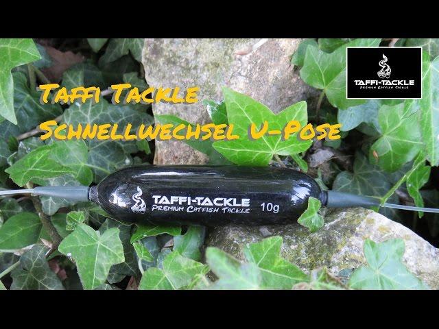 Taffi Tackle Schnellwechsel U-Pose Produktvideo ( Welsmontage, Welsangeln, U-Posenmontage )