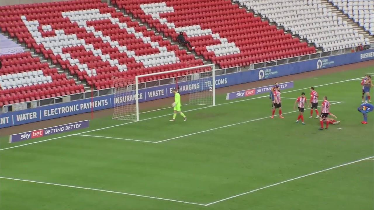 Сандерленд  1-0  Шрусбери Таун видео