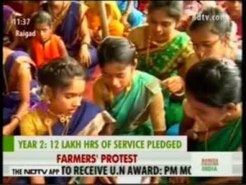 SWADES  NDTV 24x7 covers Sai Kond hamlet