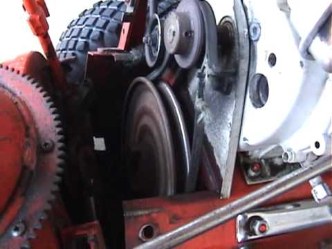 Fixing The Snow Blower Belt Part 1 On 3610 Youtube