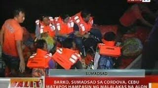 BT: Barko, Sumadsad Sa Cordova, Cebu