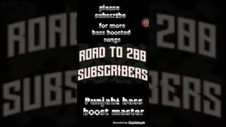 Athra Subah [BASS BOOSTED] | Ninja | Gold Boy | Latest Punjabi Song 2017 | Punjabi Bass Nation