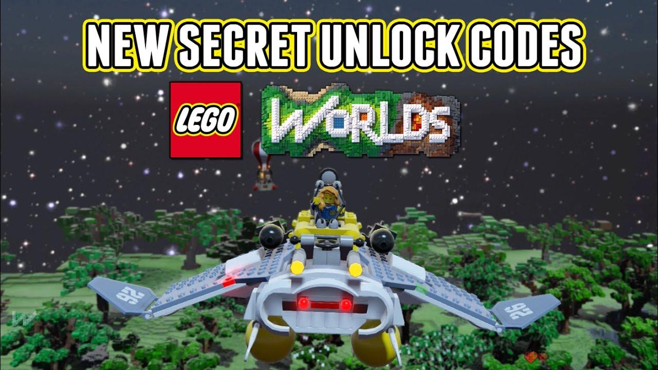 NEW LEGO Worlds Secret...